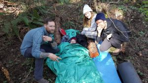 The Yervana Crew at Wilderness First Aid Training