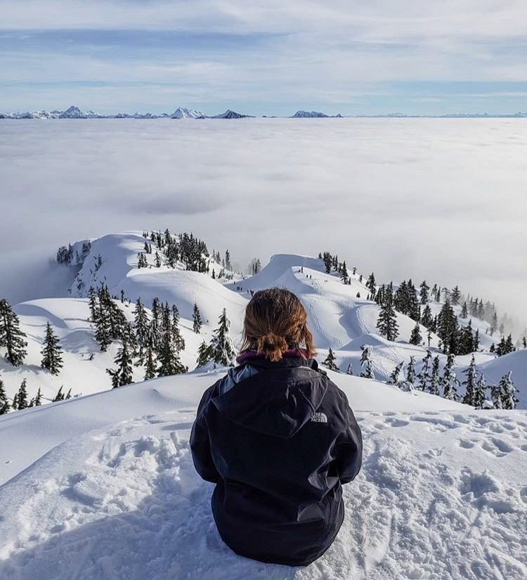 Beautiful Snowshoeing Trails Close To Vancouver