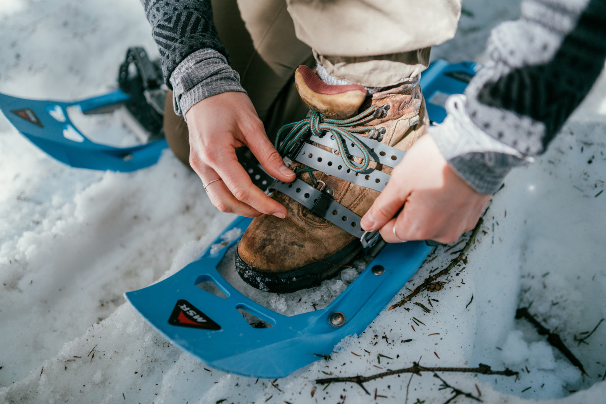 Snowshoe: Canadian Rockies