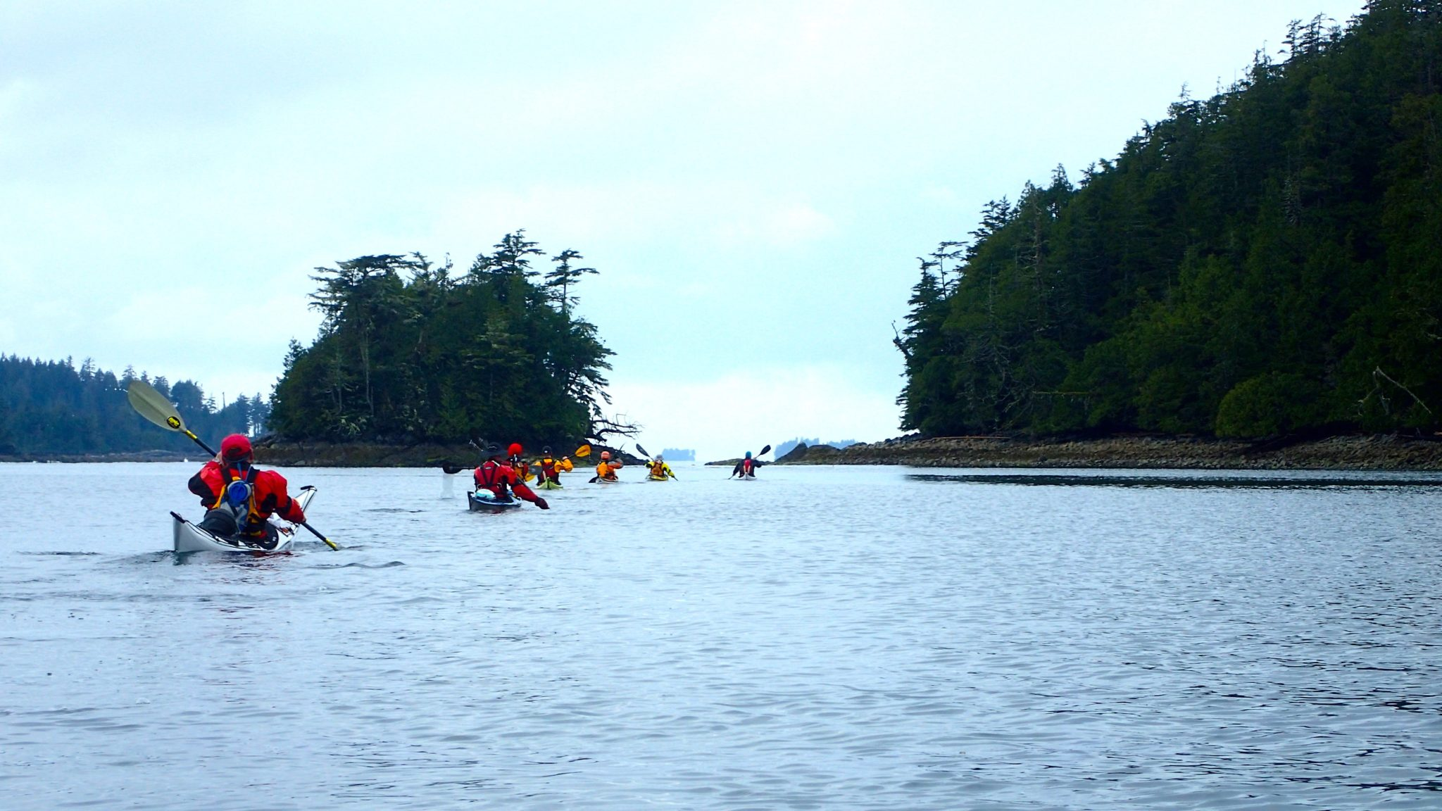 Kayaking In Victoria BC