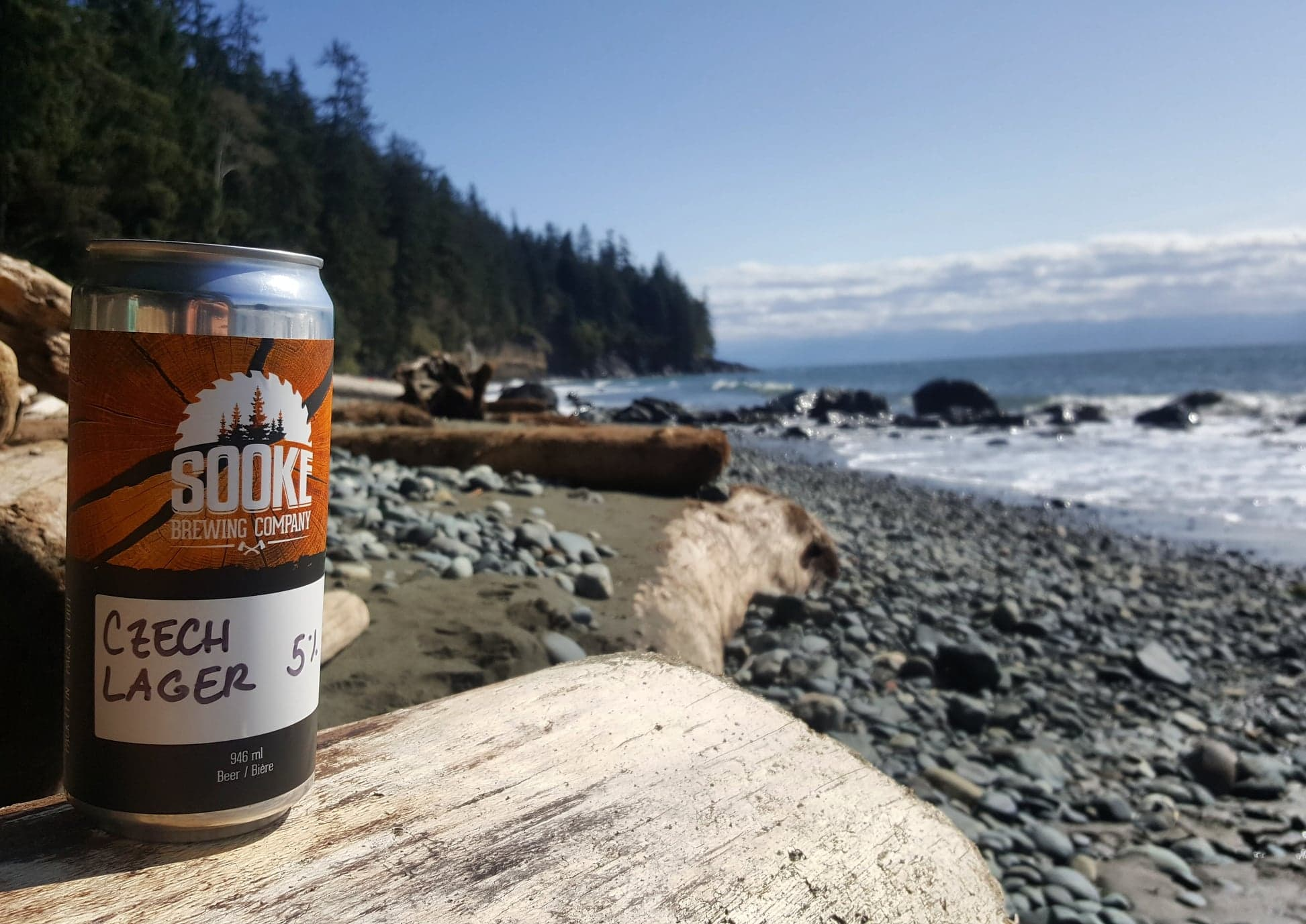 Beer On The Beach In Sooke, BC With Yervana