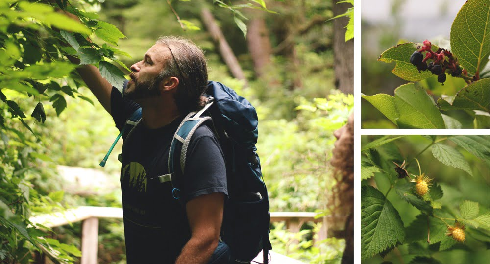 Foraging In Sooke, BC With Yervana