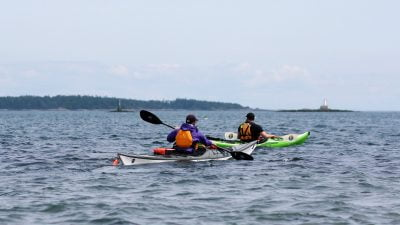 Sea Kayaking In Victoria, BC