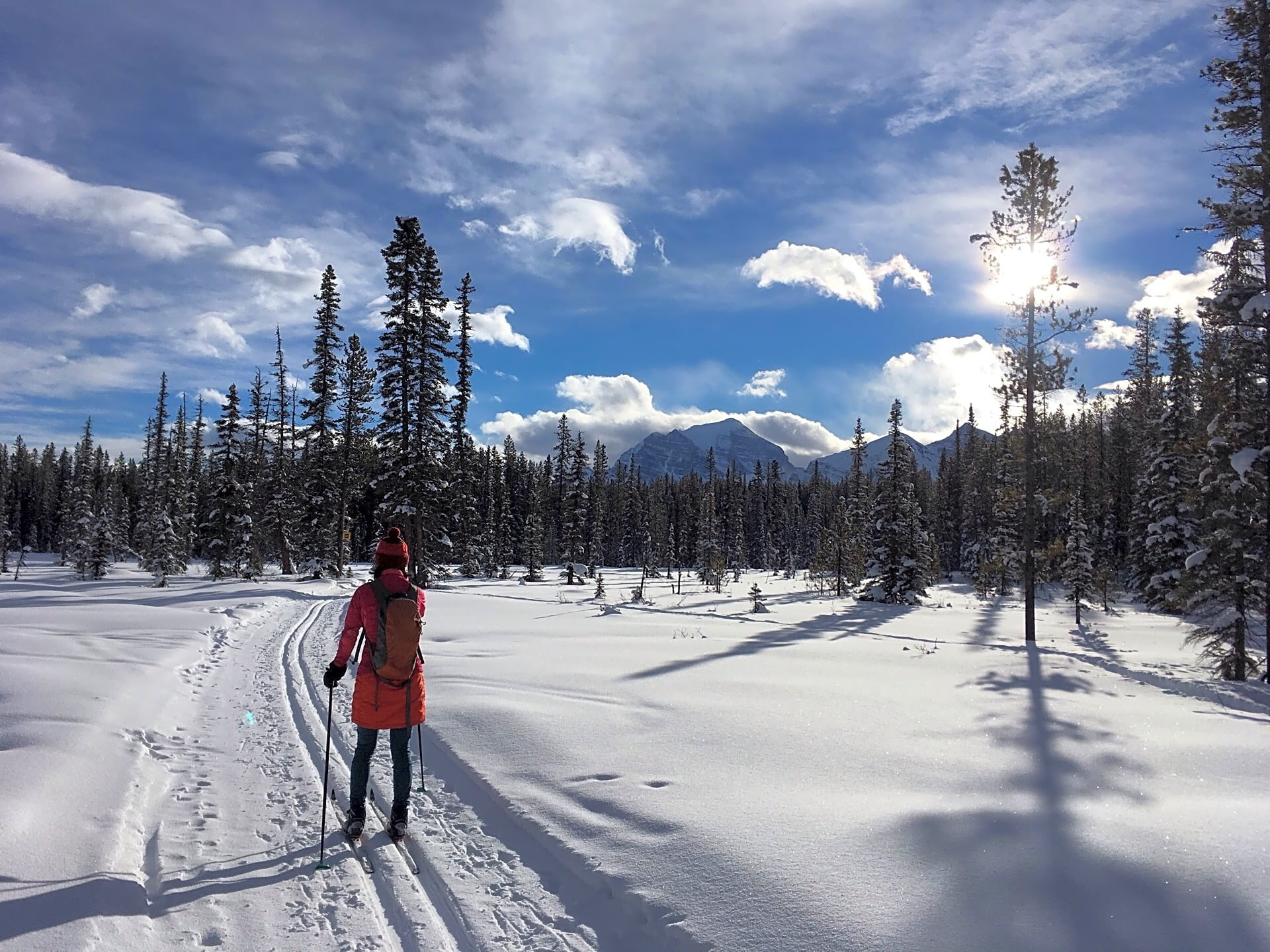 Nordic Skiing in Banff, Alberta
