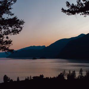 Sunset Near Squamish
