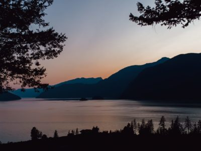 Sunset Near Squamish