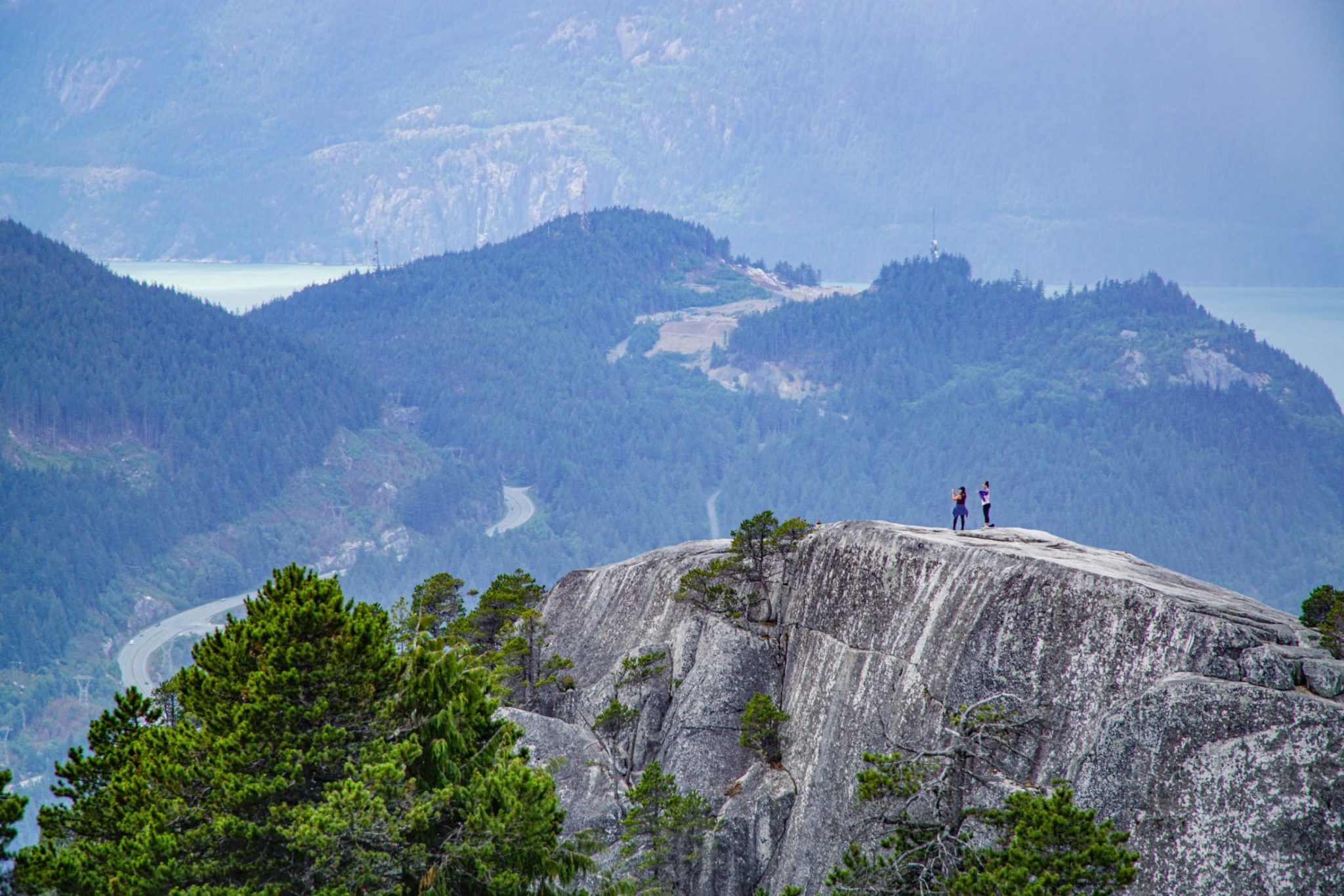 The Chief overlooking Squamish