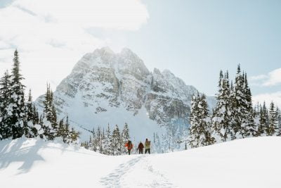 How To Spend Winter In Banff And Lake Louise: Snowshoeing Under The Mountains