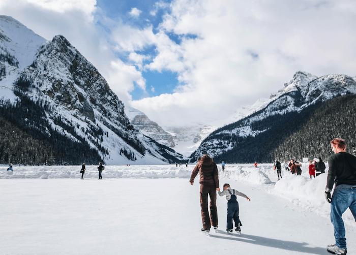 Top Reasons To Visit The Rockies In Winter: Skating