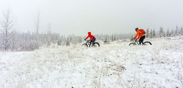 Fat bike Canmore
