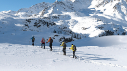 ACMG Guide Snowshoe Tour