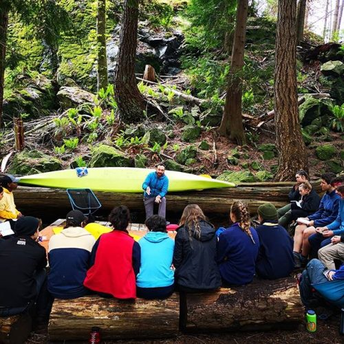 Outdoor Council of Canada (OCC) Field Leader program with FX Gagnon
